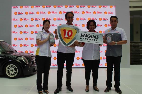 Shell Helix perpanjang masa garansi jadi 10 tahun