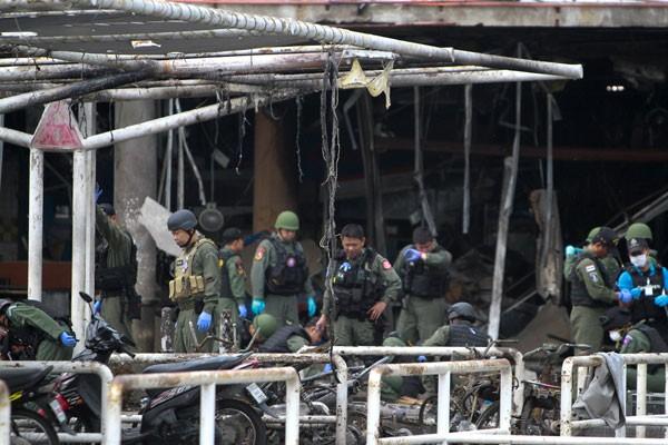 Bom tewaskan enam tentara di Thailand selatan