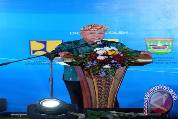 Menteri Basuki : Kekompakan Menentukan Pencapaian Target Pembangunan 65 Bendungan