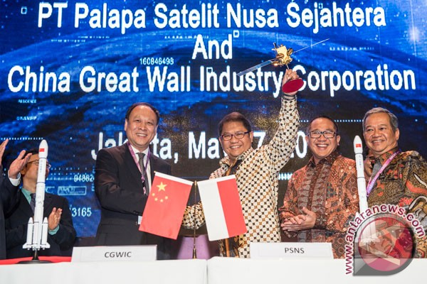 Indosat, PSN buy Palapa-N1 satellite from Chinese company