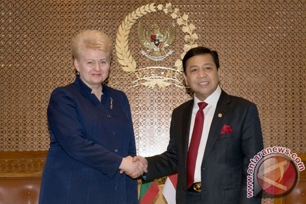 Lithuanian president optimistic of intensifying bilateral cooperation with Indonesia