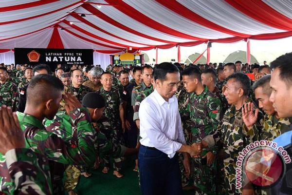 Presiden Jokowi : TNI harus antisipasi perubahan dunia