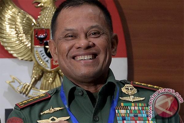 Panglima TNI tidak minta peranan UU Antiterorisme