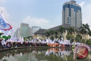 Buruh ingin temui Presiden Jokowi untuk sampaikan tuntutan