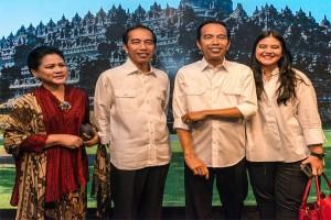 Patung Jokowi di Museum Madame Tussauds Hong Kong