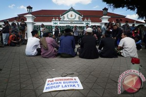 Aksi Hari Buruh Yogyakarta
