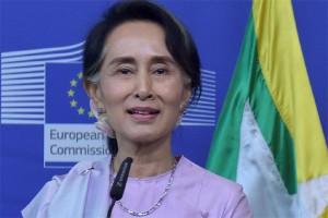 Aung San Suu Kyi buka suara, ini pernyataan-pernyataan positifnya