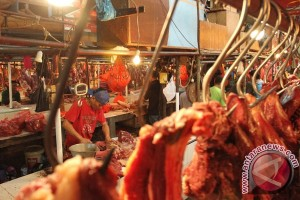 Harga daging sapi di kisaran Rp120.000-Rp140.000/kg