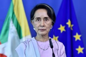 Suu Kyi terima penghargaan saat kunjungi Inggris
