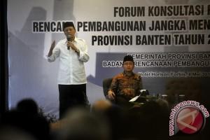 Gubernur Wahidin siap buktikan Banten tidak terbelakang