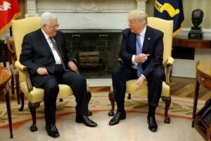 Trump sambut Presiden Palestina di Gedung Putih
