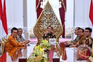 Pemimpin KPK temui Presiden sampaikan masukan perbaikan sistem