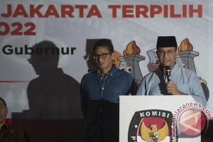 Penetapan Cagub Cawagub Jakarta Terpilih