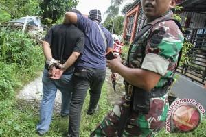 Satu tahanan Polsek Pekanbaru kabur usai ekspos
