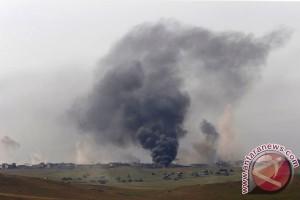 Pasukan Irak desak warga sipil Mosul mengungsi