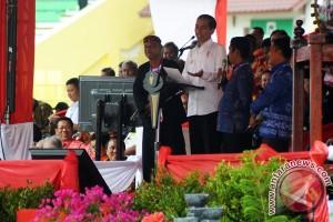 Saat Jokowi bicara kopi, kakao, dan sayangnya kepada petani