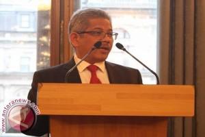Peringatan HUT RI Ke-72 London diawali pengukuhan anggota Paskibra