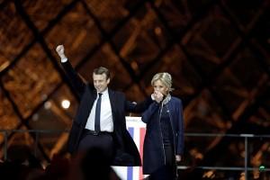 Ucapan selamat mengalir kepada Macron