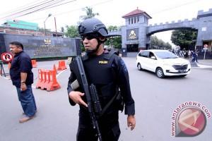 Pengamanan Mako Brimob Terkait Penahanan Ahok
