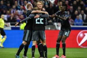 Ajax tantang Manchester United di final Liga Europa