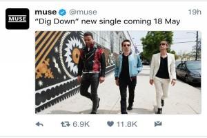 Muse umumkan peluncuran single terbaru