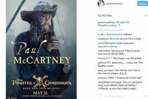 "Begini gaya Paul McCartney di film ""Pirates of the Caribbean"""