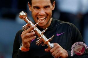 Nadal naik ke peringkat empat dunia
