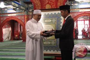 Di Masjid Niujie, Presiden Jokowi bersilaturahmi dengan muslim China