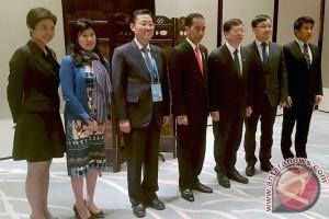 Presiden Jokowi temui Rektor Universitas Tsinghua