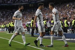 Madrid gulung Sevilla 4-1, jaga asa juara