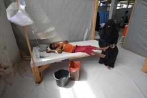 Korban jiwa akibat wabah kolera Yaman lampaui 1.100