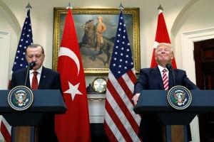 Trump dan Erdogan perkuat hubungan di tengah ketegangan