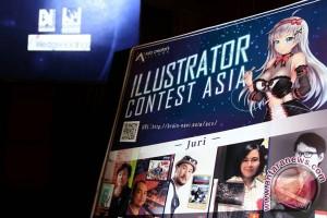 Wedge gelar kontes ilustrator di empat negara