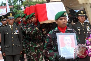 Pemakaman Prajurit Latihan PPRC