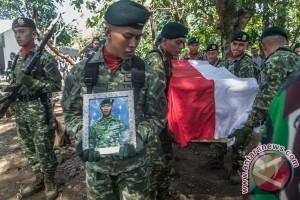Pemakaman Prajurit TNI PPRC