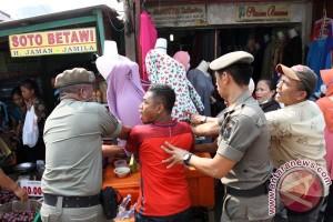 Penertiban PKL Tanah Abang