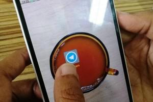 Telegram tambah pesan video dan Telescope