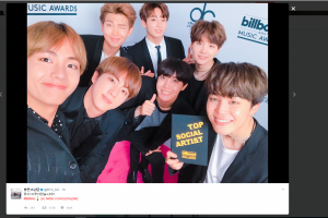 BTS, grup K-Pop pertama menangi Billboard Award 2017