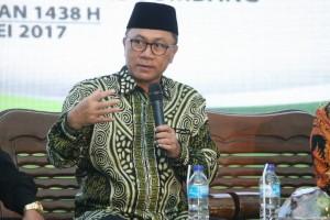Ketua MPR: Pancasila mempersatukan, bukan membedakan