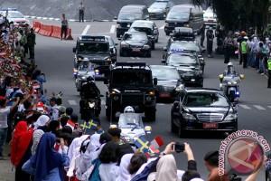 Kedatangan Raja Dan Ratu Swedia Di Bogor