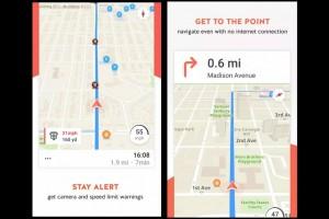 Karta GPS pakai suara Trump untuk navigasi