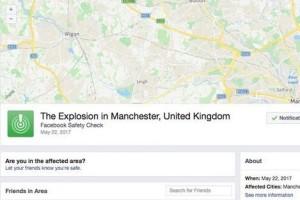 Facebook aktifkan Safety Check usai bom konser Ariana Grande