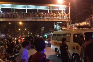 Polisi masih olah TKP bom Kampung Melayu