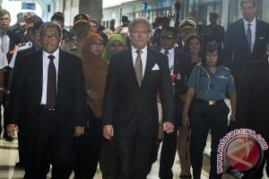 Kunjungan Raja Swedia Ke Bandung