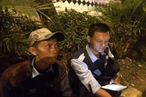 Bom Kampung Melayu; keterangan saksi mata petugas TransJakarta