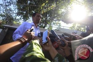 Presiden gelar rapat singkat di Lanud Halim