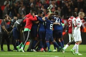 Manchester United juara Liga Europa 2017