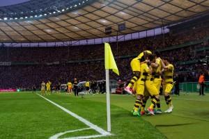 Dortmund juara Piala Jerman usai tundukkan Frankfurt 2-1