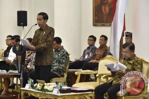Presiden Jokowi ingin pembahasan RUU Antiteror segera rampung