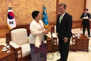 Megawati: Warga dua Korea inginkan reunifikasi